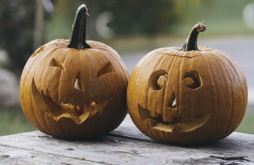 Picture of Halloween Pumpkins