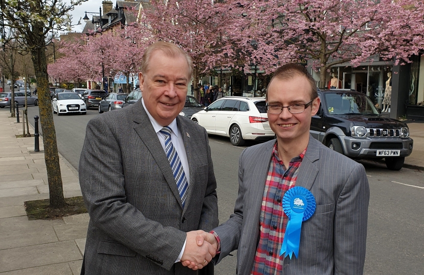 Cllr Mike Gibbons and Cllr Kyle Green