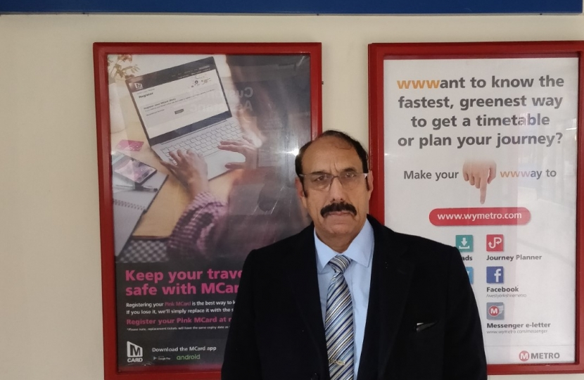 Photo of Zafar Ali, Conservative Councillor for Keighley Central